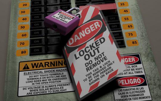 NFPA 70E Lockout Tagout