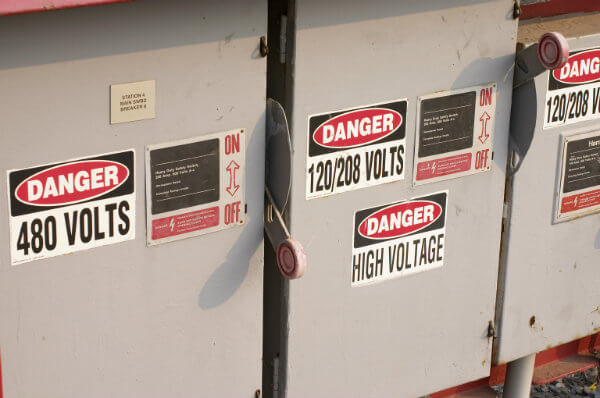 safety signs, visual workplace