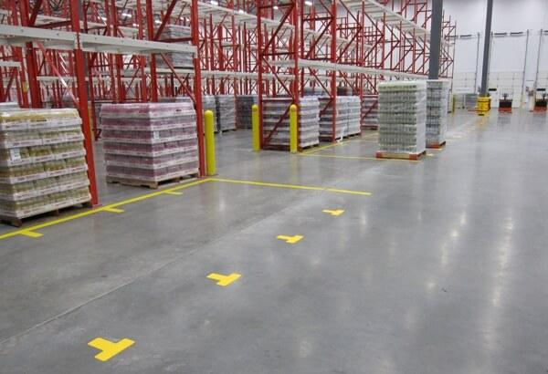 Floor Markings, Storage, Stacking